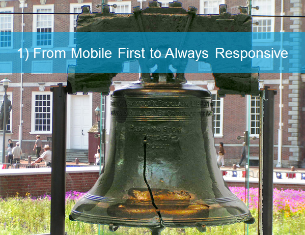 mobile first to always responsive