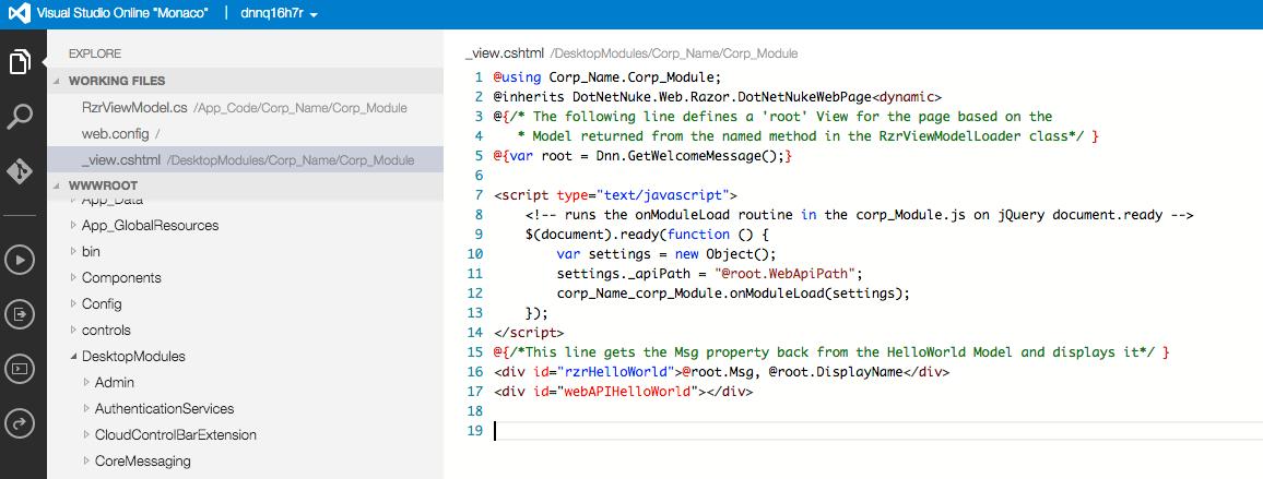 Build SPA DNN modules using Razor and WebAPI > DNN Software
